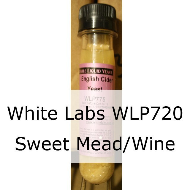 Liquid Wine Yeast - WLP720 White Labs Sweet Mead/Wine Yeast