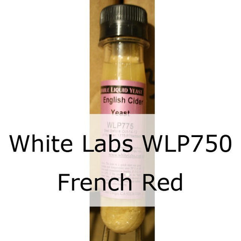 WLP750 White Labs French Red Liquid Wine Yeast