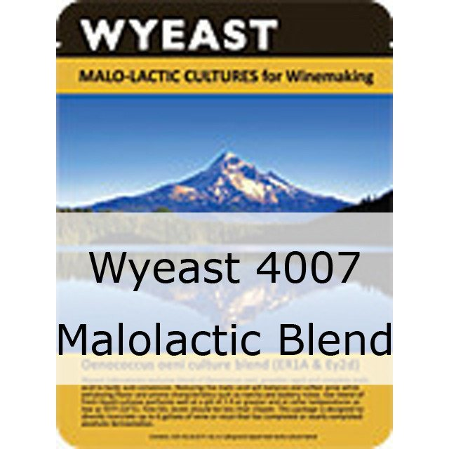 Liquid Wine Yeast - Wyeast 4007 Malolactic Blend