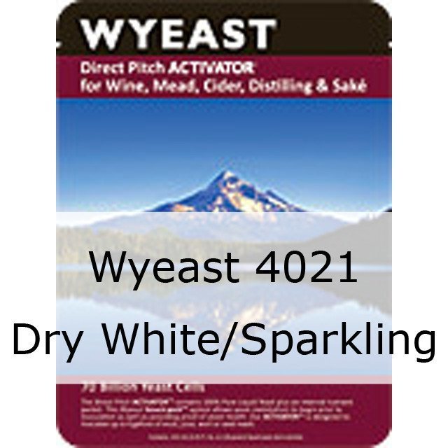 Liquid Wine Yeast - Wyeast 4021 Dry White/Sparkling