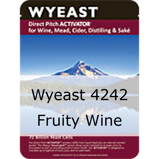 Liquid Wine Yeast - Wyeast 4242 Fruity Wine