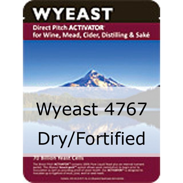 Liquid Wine Yeast - Wyeast 4767 Dry/Fortified