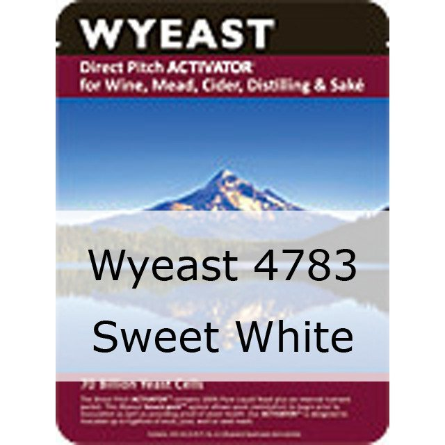 Liquid Wine Yeast - Wyeast 4783 Sweet White