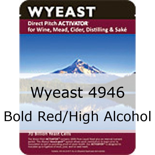 Liquid Wine Yeast - Wyeast 4946 Bold Red/High Alcohol