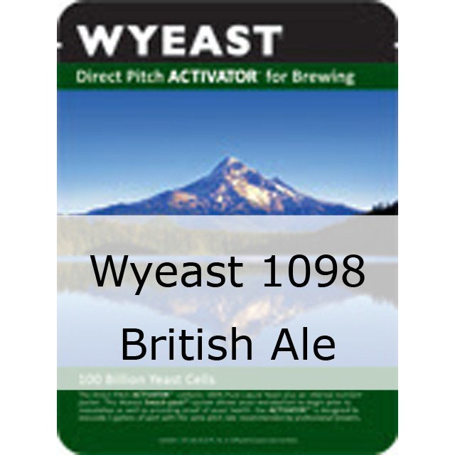 Liquid Yeast - Wyeast 1098 British Ale
