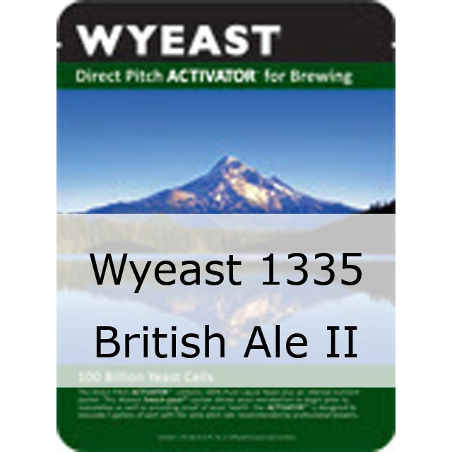 Liquid Yeast - Wyeast 1335 British Ale II