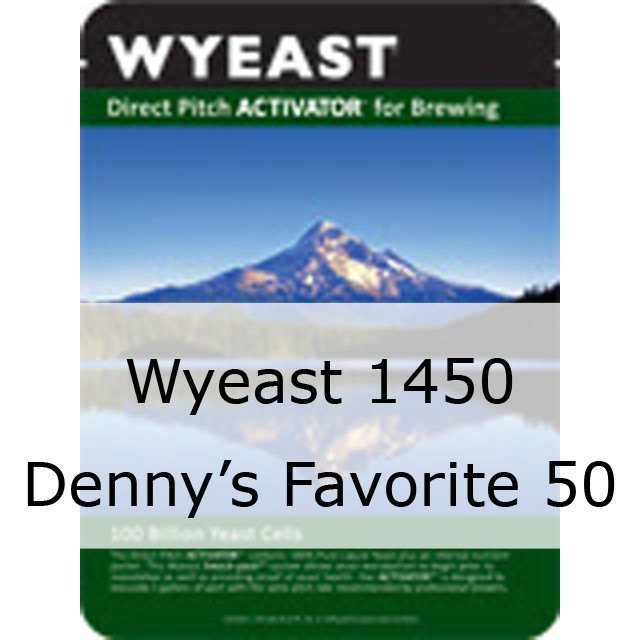Liquid Yeast - Wyeast 1450 Denny's Favorite 50