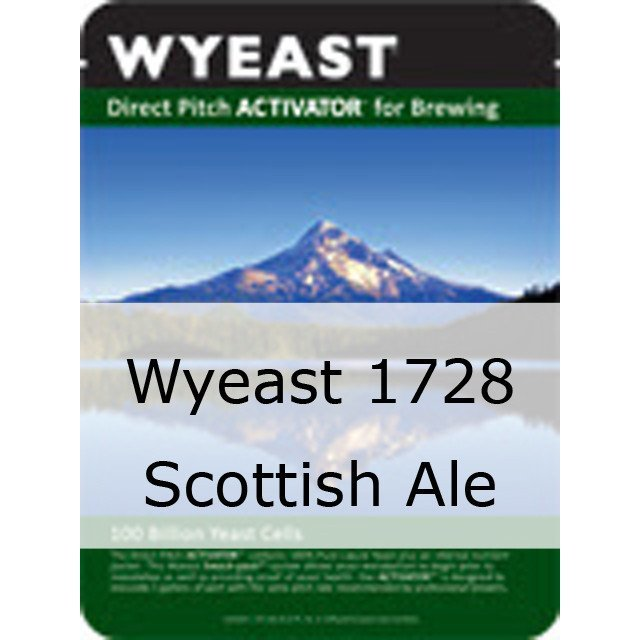 Liquid Yeast - Wyeast 1728 Scottish Ale