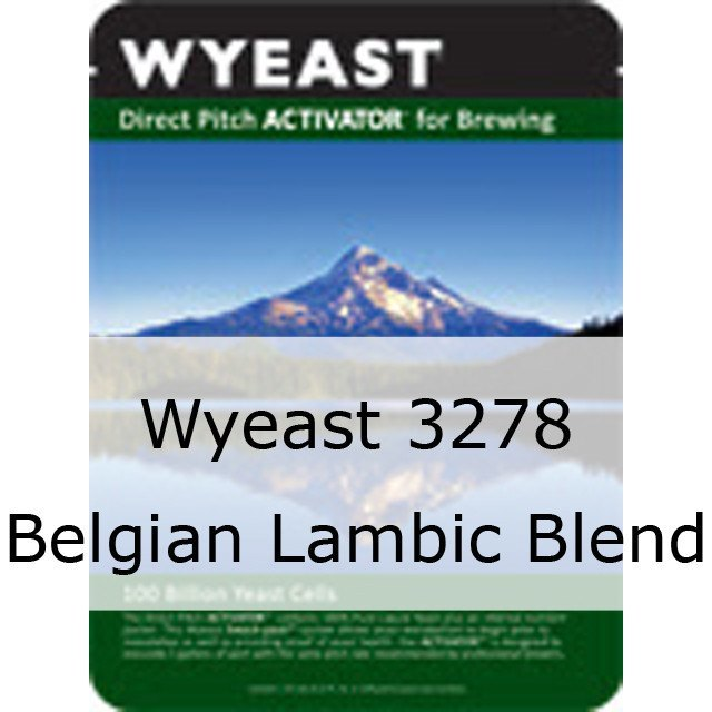 Liquid Yeast - Wyeast 3278 Belgian Lambic Blend