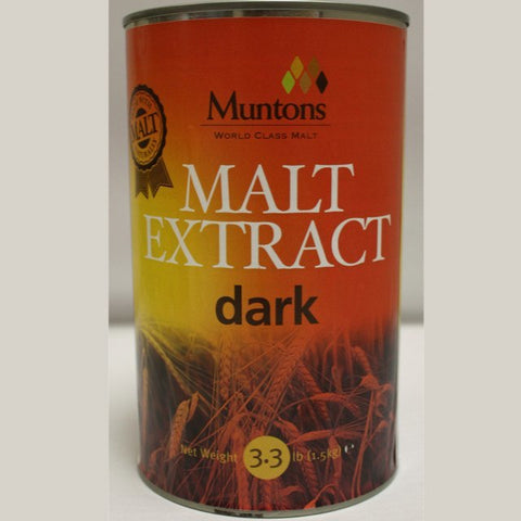 Dark Liquid Malt Extract (LME) 3.3 LB Cans (Muntons)