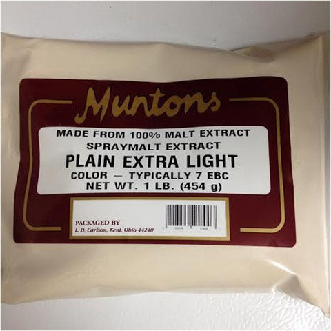 Extra Light Dry Malt Extract (DME) 1 LB (Muntons)