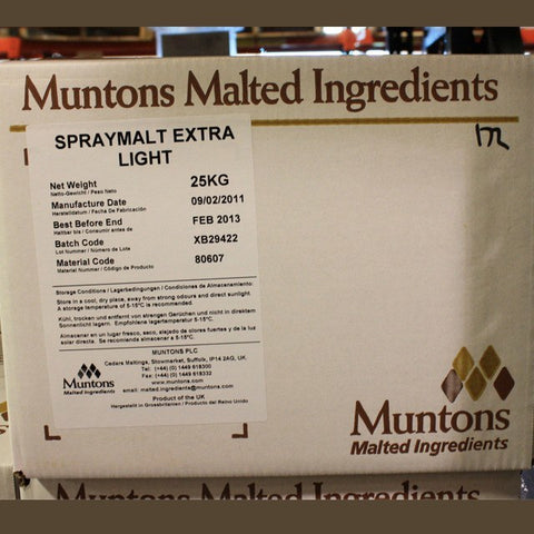 Extra Light Dry Malt Extract (DME) 55 LB (Muntons)