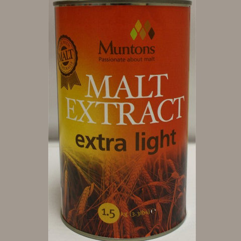 Extra Light Liquid Malt Extract (LME) 3.3 LB Cans (Muntons)