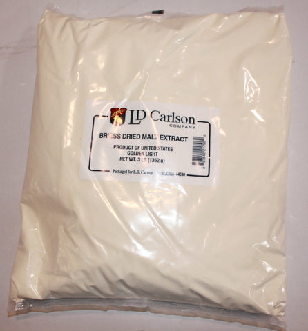 Golden Light Dry Malt Extract (DME) 3 LB (Briess)