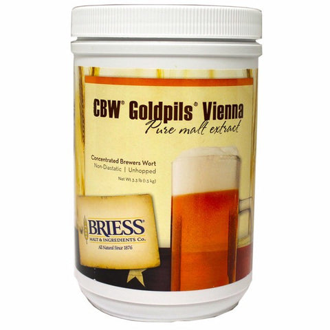 Goldpils Vienna Liquid Malt Extract (LME) 3.3 Lb. Canister (Briess)