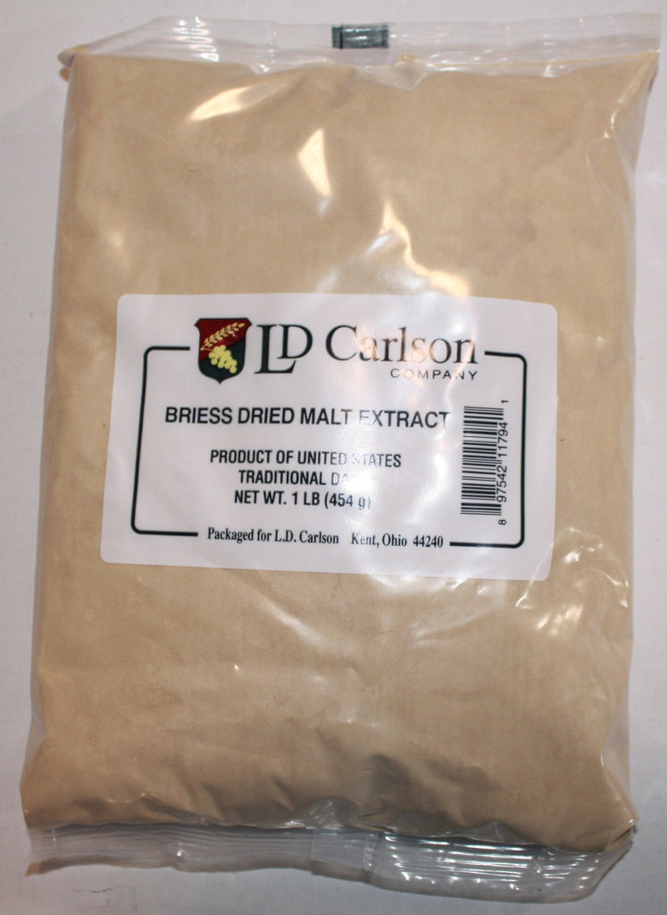 Malt Extract - Traditional Dark Dry Malt Extract (DME) 1 LB (Briess)