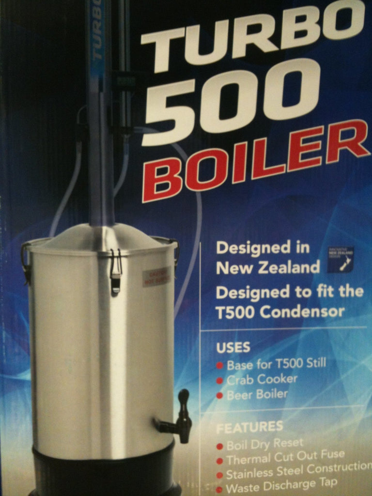 Miscellaneous Equipment - Turbo 500 Boiler