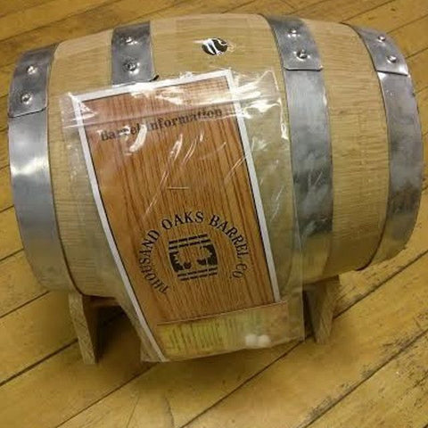 Oak Barrel, Medium Char, 5 Liters