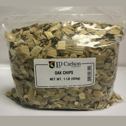 Oak Chips, Light Toast, 1 lb (US)