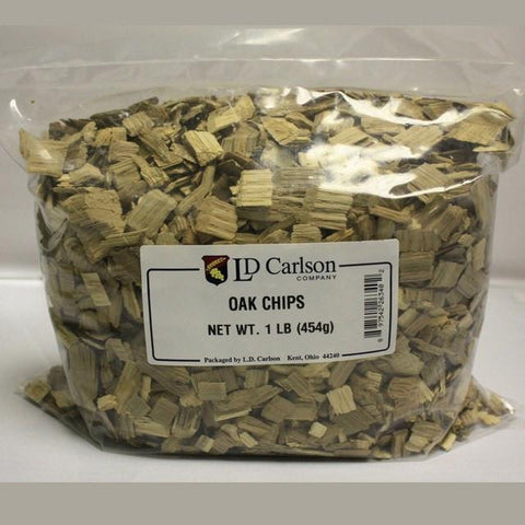 Oak Chips, Light Toast, 8 oz (US)