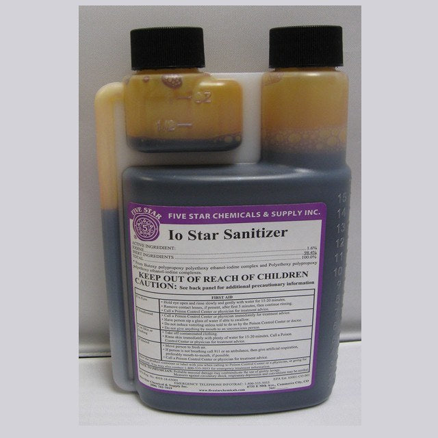 Sanitizers - Io-Star 32 Oz (Five Star)