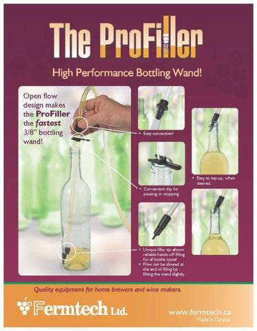 Bottle Filler, ProFiller from Fermtech