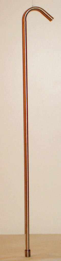 "Siphon Equipment - Racking Cane, Stainless Steel, 24"" Long, With SS Tip"