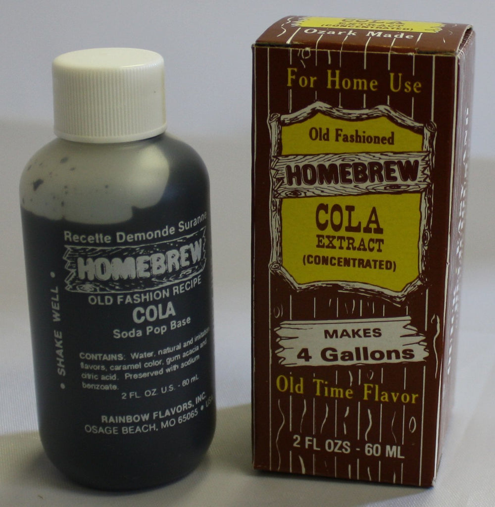 Soda - Cola Soda Extract 2 Oz (Old Fashioned)