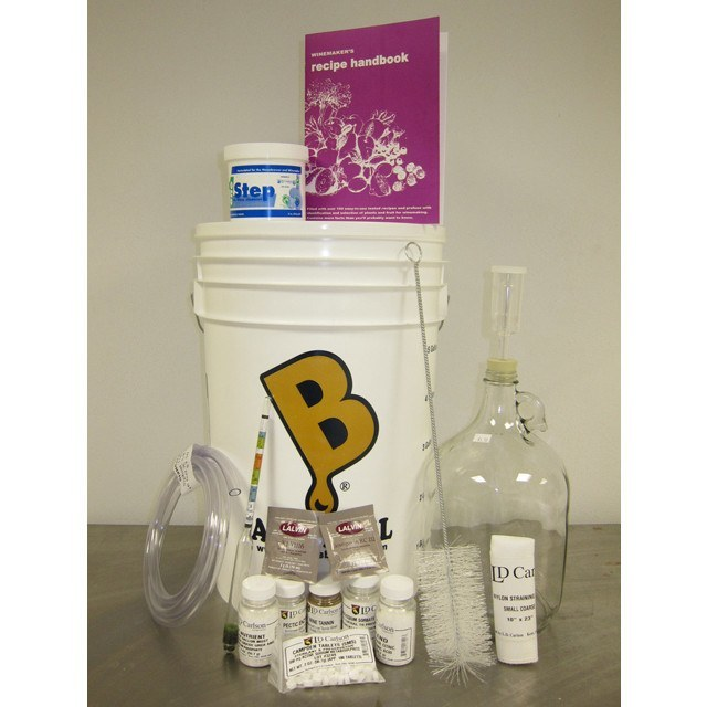 Starter Kits - Wine Starter Kit - 1 Gallon For Fruit