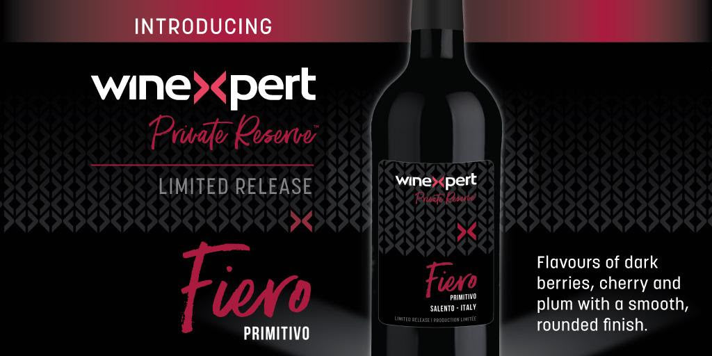 Private Reserve Fiero Winemaking Kit (Winexpert Reserve)