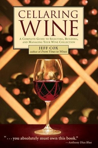 Wine Books - Cellaring Wine By Cox