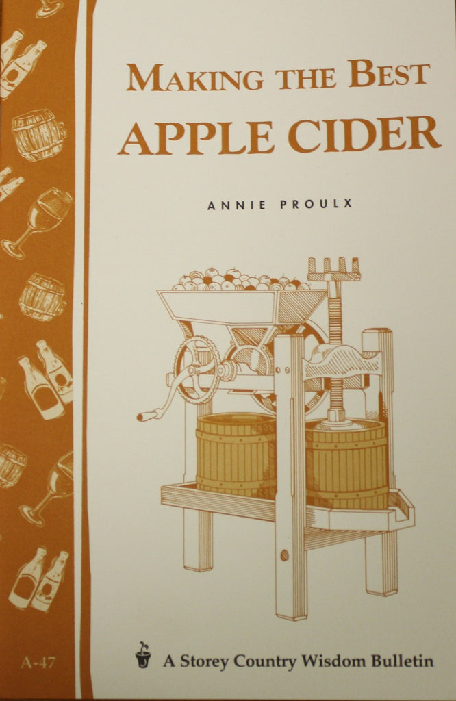 Wine Books - Making The Best Apple Cider (Garden Way)