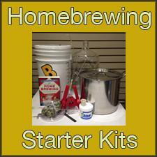 Homebrewing Equipment Starter Kits