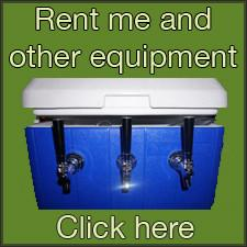 Rental equipment (presses, crushers, CO2 tanks, mash tuns, kettles, corkers, etc)