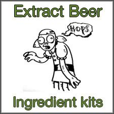 Extract Homebrewing Ingredient Kits