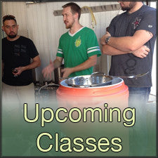 Homebrewing, winemaking, and kombucha making classes