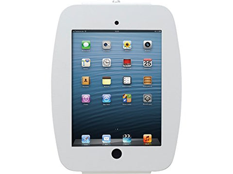 Compulocks 224SENW Enclosure for iPad, Without Card Reader Support and VESA Mount Compatible, White - Surplus Crestron