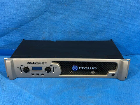 Crown XLS1000 High Density 2 Channel Power Amplifier - 350W/ch, Mono Bridgeable - Surplus Crestron
