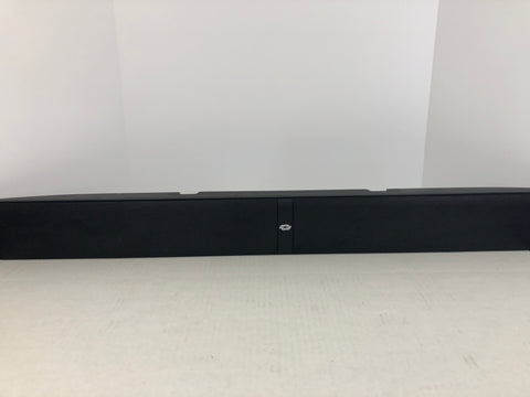 Crestron Saros SB-200-P-B Saros® Sound Bar 200, Powered, Black - Surplus Crestron