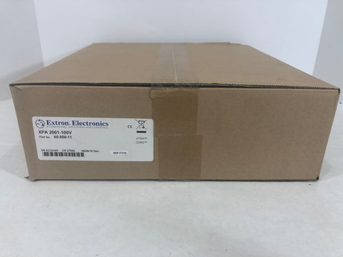 Extron XPA 2001-100V 100 V Mono Amp - 200 Watts New in box	60-850-11 - Surplus Crestron