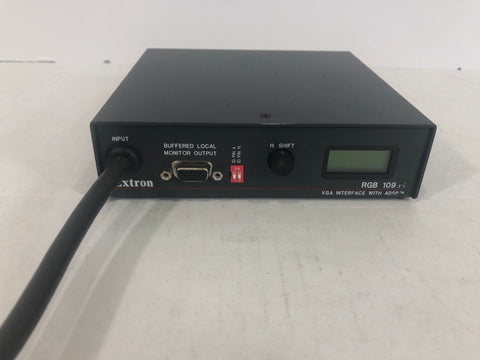 Extron RGB 109xi Dedicated Interface with ADSP	60-289-01 - Surplus Crestron