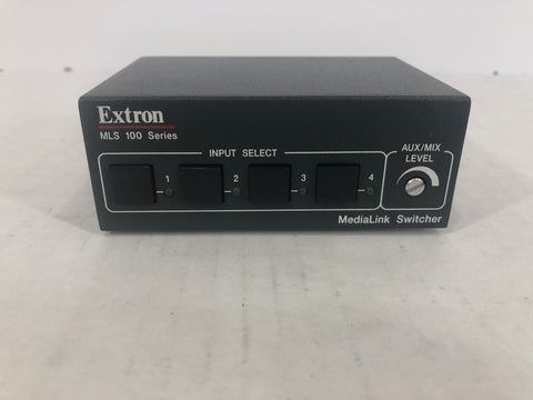 Extron MLS 100 A Four Input Audio 60-497-01 - Surplus Crestron