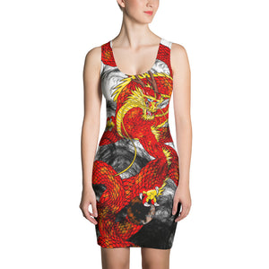 Red Imperial Dragon Dress