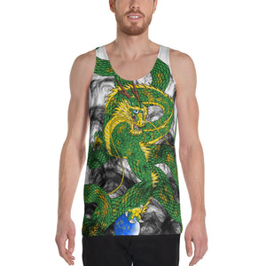 Forest Green Imperial Dragon Men's Tank Top