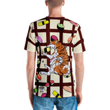 Sushi Dogs Men's Crew Neck T-Shirt