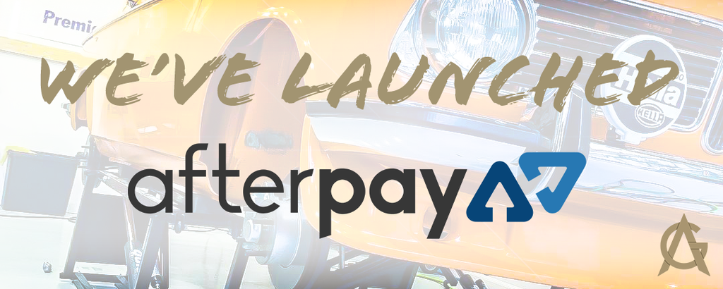 We've Launched Afterpay!