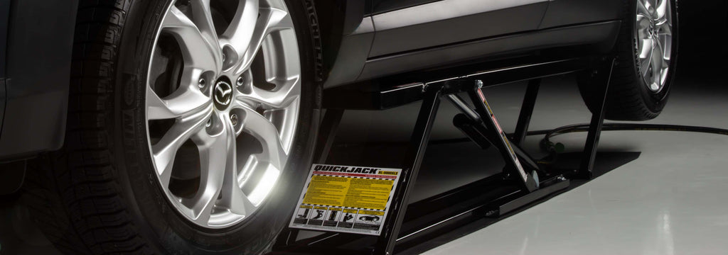 Revolutionise your car lifting. 6 steps to using your Quickjack.