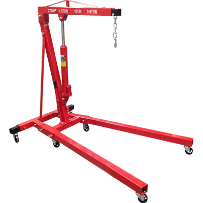 2-Ton Folding Shop Crane - RSC-2TF - My Auto Garage