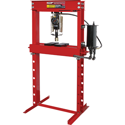 Commercial Grade 20-Ton Shop Press - RP-20HD - My Auto Garage