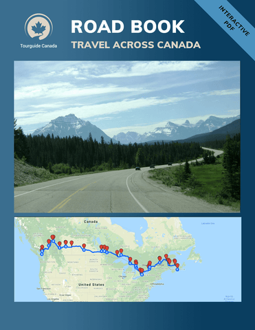 Road Book to Travel Across Canada